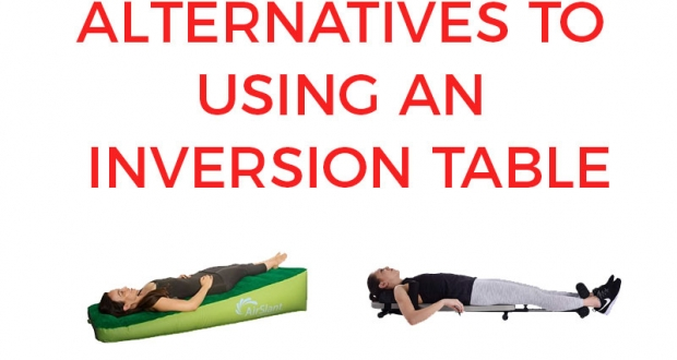 Alternatives to using an inversion table